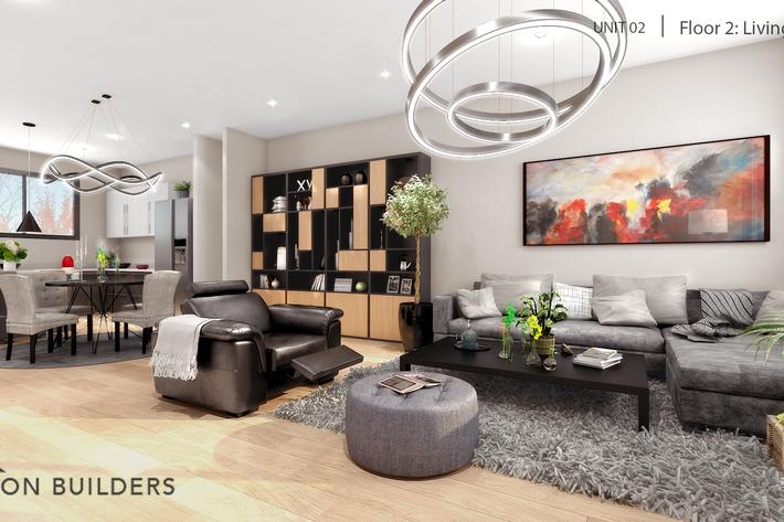 Fair oaks unit02 floor2 living area