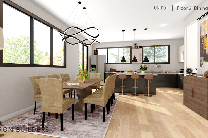 Fair oaks  unit01 floor2 dining area