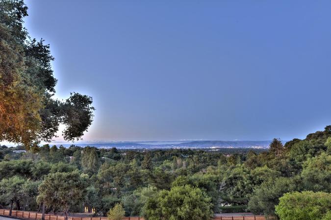 10880 magdalena rd los altos large 062 8 view from balcony at dusk 1500x1000 72dpi