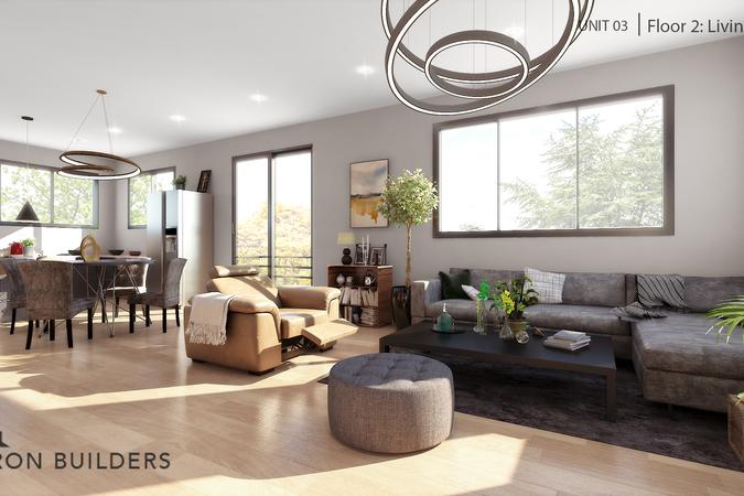 Fair oaks unit03 floor2 living area
