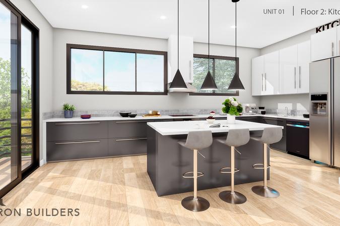 Fair oaks  unit01 floor2 kitchen