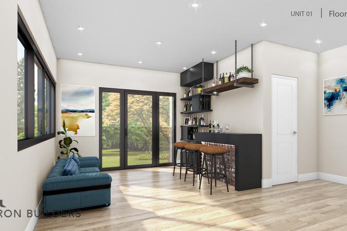 Fairoaks unit01 floor 1 bar area