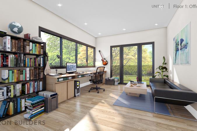 Fairoaks unit01 floor 1 office area