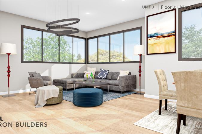 Fair oaks  unit01 floor2 living