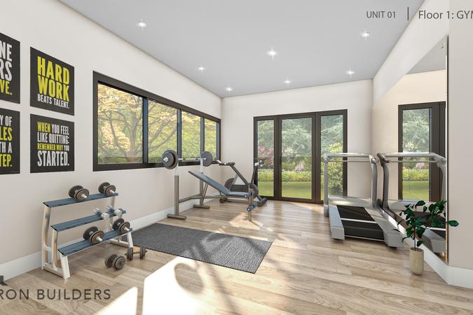Fairoaks unit01 floor 1 gym area