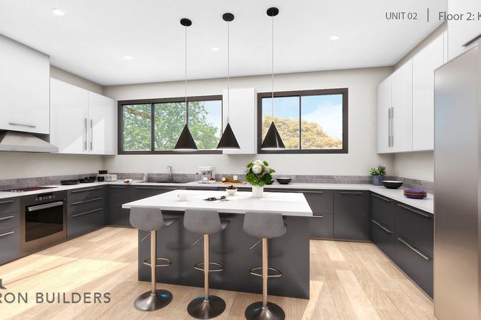 Fair oaks unit02 floor2 kitchen
