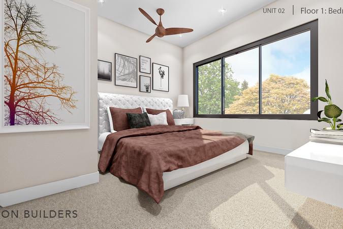 Fairoaks unit02 1st floor bedroom