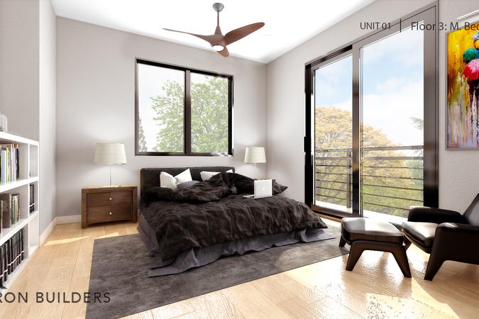Fair oaks unit01 floor3 master bedroom