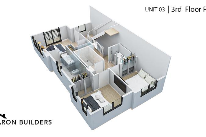 Fairoaks unit03 3rd floor plan