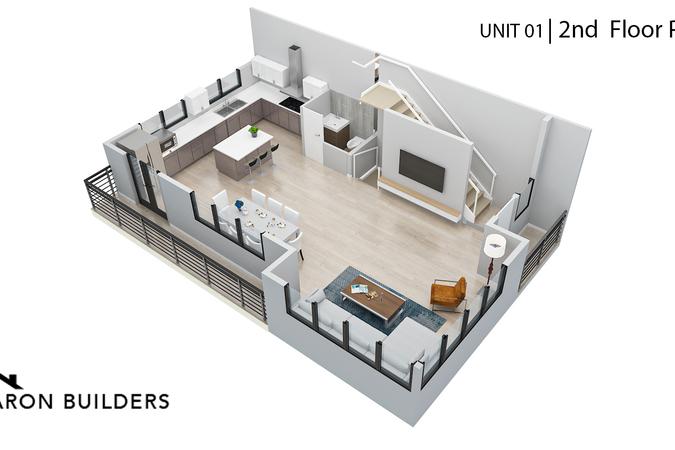 Fairoaks unit01 2nd floor  plan