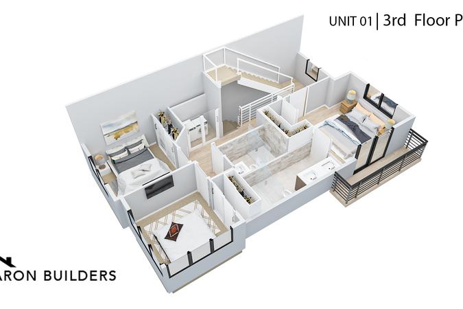 Fairoaks unit01 3rd floor  plan