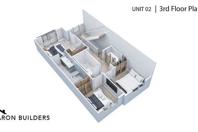 Fairoaks unit02 3rd floor plan