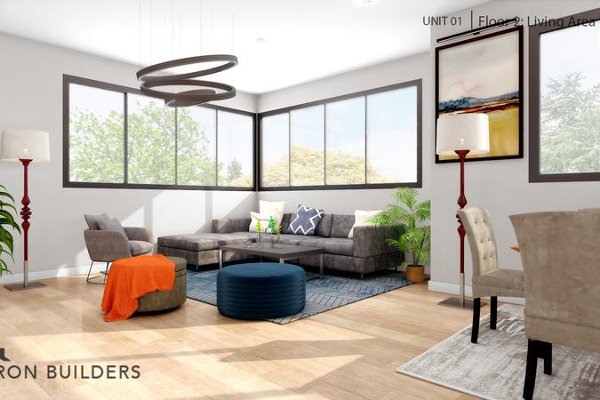Fair oaks  unit01 floor2 living area